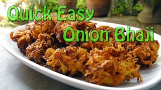 Quick Easy Onion Bhaji Recipe & Cooking Guide Indian Restaurant