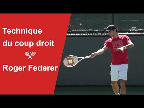 Analyse technique du coup droit lifté de Roger Federer