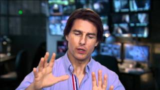 Tom Cruise Interview Behind the Scenes of Mission Impossible Ghost Protocol