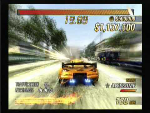 Burnout Revenge PS2 gameplay