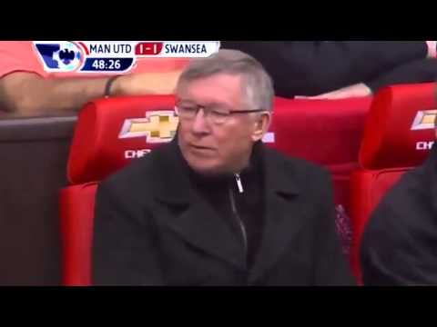 Manchester United 2-1 Swansea 12/5/2013//All Goals // Highlights//