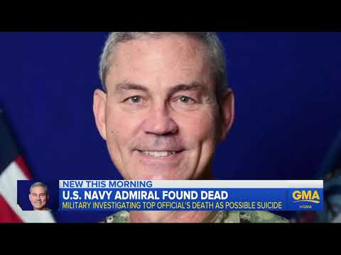 Top US Navy Admiral Found Dead At Middle East Home