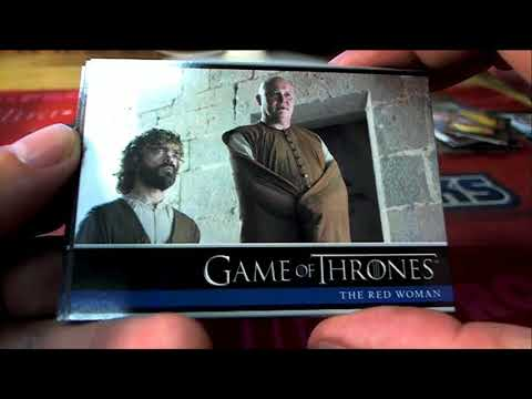 Game of Thrones Season 6 Pack Designation Break  ID GOTS6101