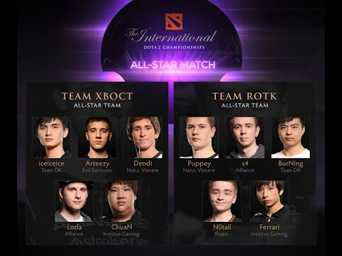 dota 2 ti4 all star match team rotk vs team xboct the