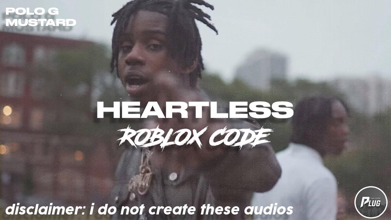 Roblox Code Polo G Mustard Heartless Youtube