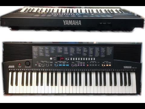 YAMAHA PSR 210 (sound and styles demonstration) HiQ sound