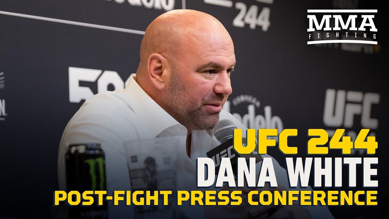 UFC 244: Dana White Post-Fight Press Conference - MMA Fighting