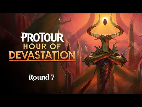 Pro Tour Hour of Devastation Round 7 (Standard): Pierre Dagen vs. William Jensen