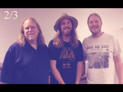 Derek Trucks & Warren Haynes Interview 2/3 The Allman Brothers