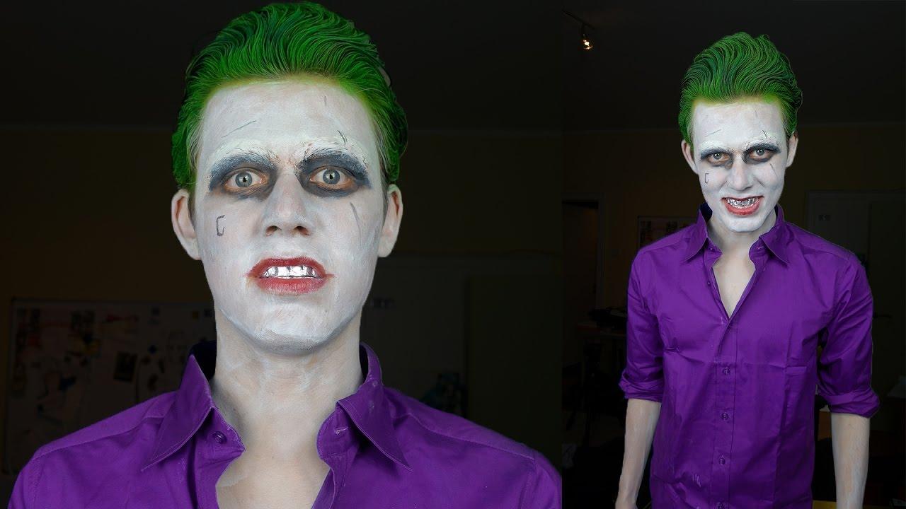 zum joker geworden mein erstes kostum halloween special youtube
