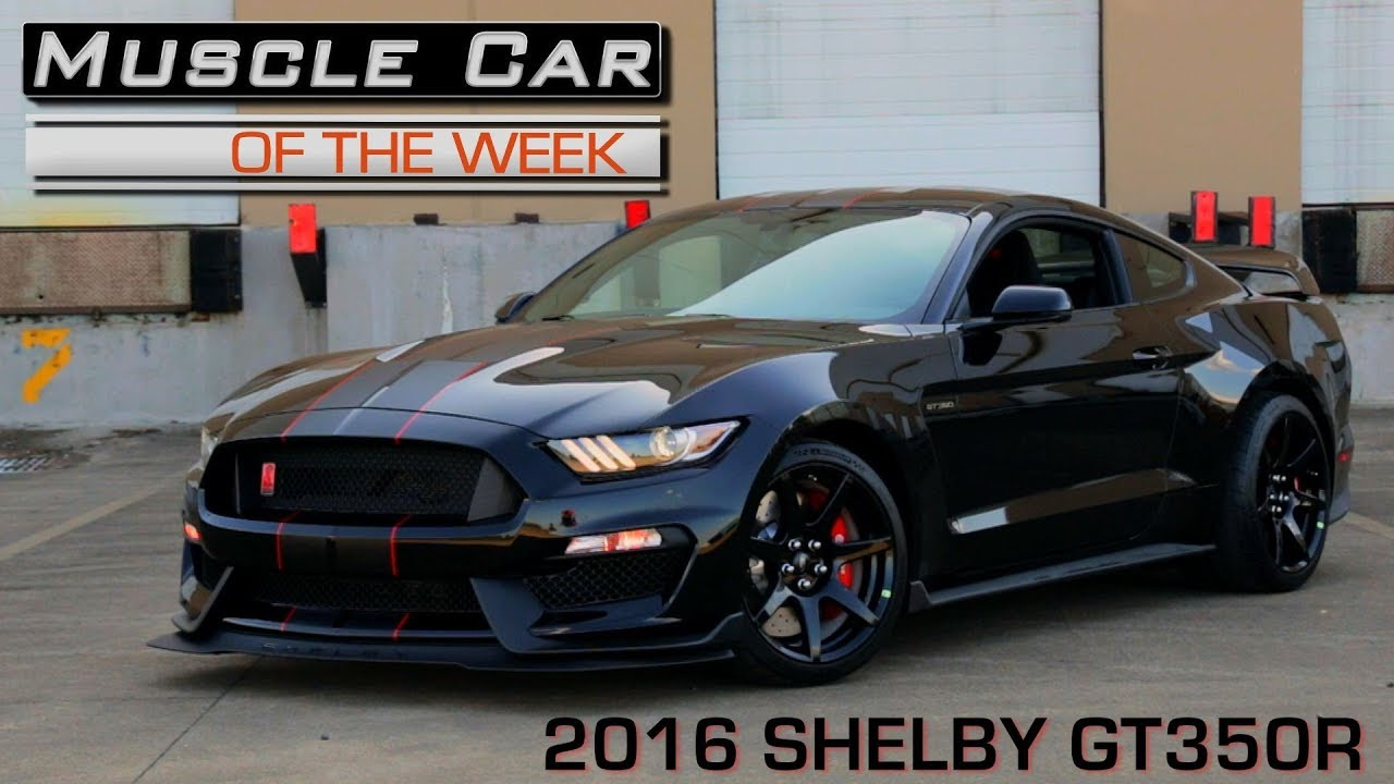 2016 Ford Mustang Shelby GT350R Muscle Car Of The Week Video Episode 229 V8TV