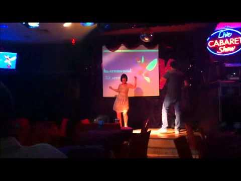 John and Gen , Towie Karaoke Bar Marmaris