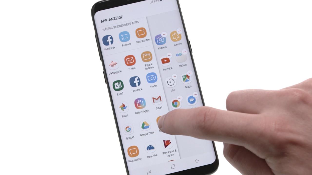 apps laden samsung galaxy s8