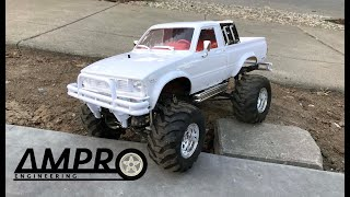 e147: HG-P407 Metal 4x4 Pick Up Crawler Tamiya Bruiser Clone First Run