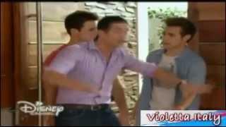 Violetta 3 - German no deja pasar a Alex y Leon (Capitulo 9)