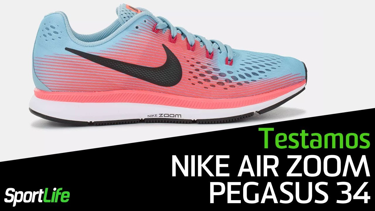 sports shoes 4e144 d1fee Nike Air Zoom Pegasus 34   TESTAMOS