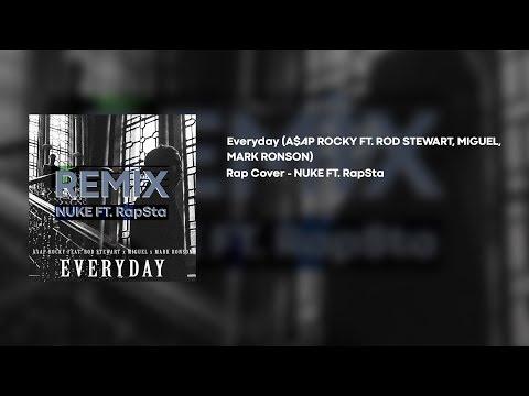 NUKE Feat. RapSta – Everyday | A$AP ROCKY | New Rap Cover 2019 | Lyrics Video |