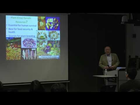 Kazuo Watanabe - Plant Genetic Resources and Plant Biotechnology under Biodiplomacy