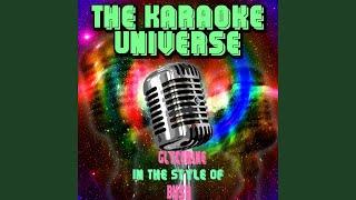 Glycerine (Karaoke Version) (in the Style of Bush)
