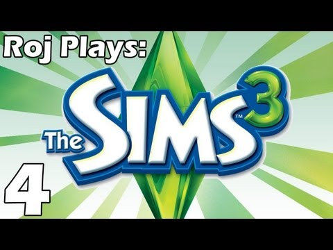 Roj Plays: The Sims 3 - Part 4: Sleeping together