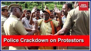 Kerala Police Cracks Down On Sabarimala Protestors After Women Devotees Blocked, Turned Away