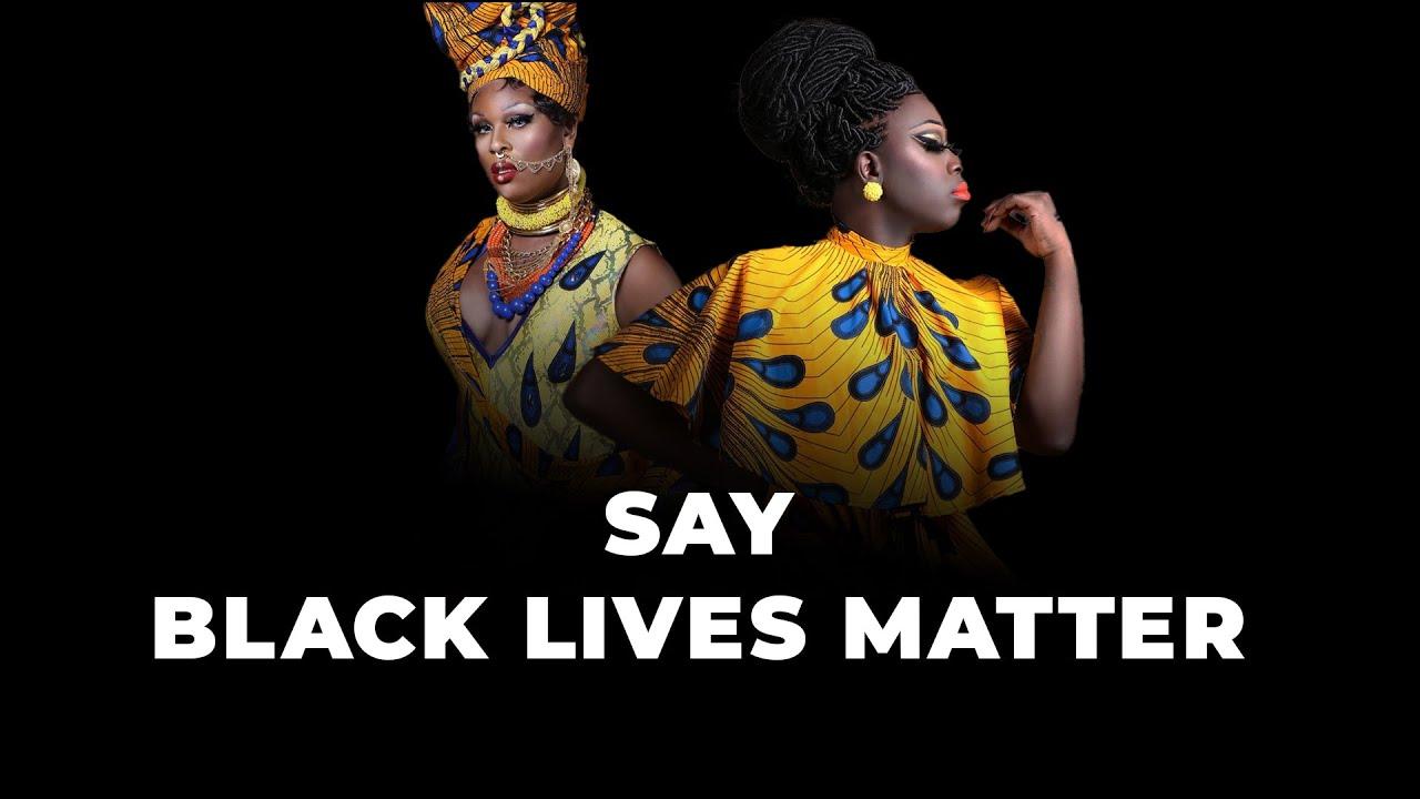 Why you should say Black Lives Matter