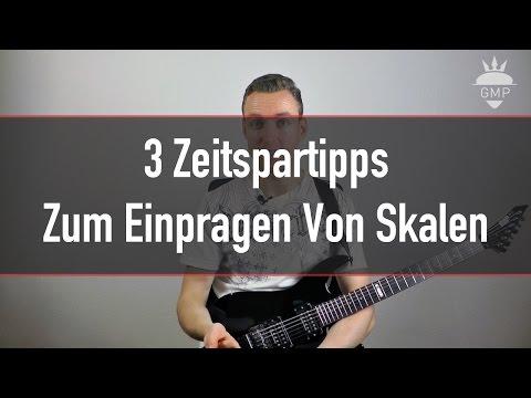 Solo Spielen Lernen - 3 Zeitspartipps zum Einprägen von Skalen   Guitar Master Plan