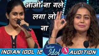 Sayali Kishore -Ao Na Gale Laga Lo Na -Asha Bhosle|R D Burman | Indian Idol 12 |Audition Performance