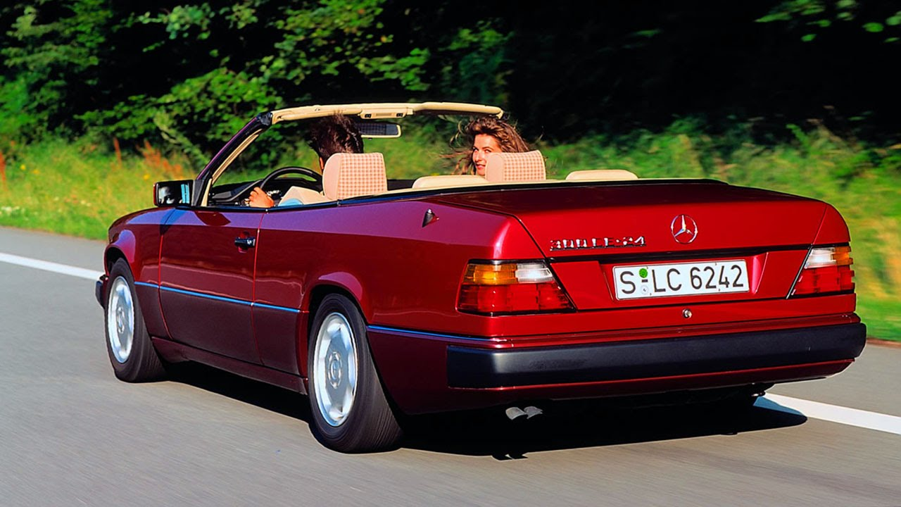 mercedes w124 cabriolet a124 the 25th anniversary mercedesw124 youtube. Black Bedroom Furniture Sets. Home Design Ideas