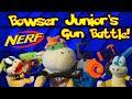 Bowser Junior's Nerf Gun Battle!