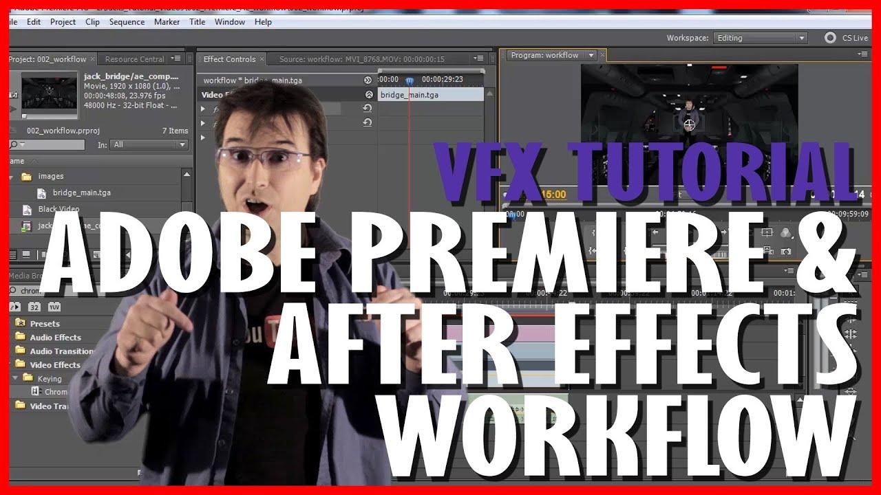 Adobe Premiere & After Effects Workflow: VFX Tutorial 002