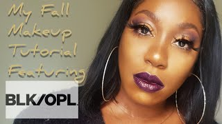 My Fall Makeup  Look| Black Opal Cosmetics Tutorial|Makeup Review
