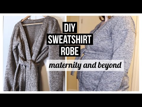 HOW TO MAKE A ROBE- Easy Diy Sewing Tutorial