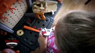 Video Review Of Home Depot Handyman Workbench By The Rock Father
