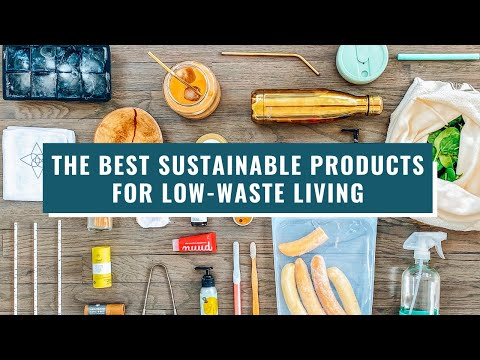 The Best Sustainable Products For Zero Waste Living | Eco Friendly | Lucie Fink