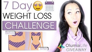 7 Day Weight Loss Challenge | Olumia Life GIVEAWAY