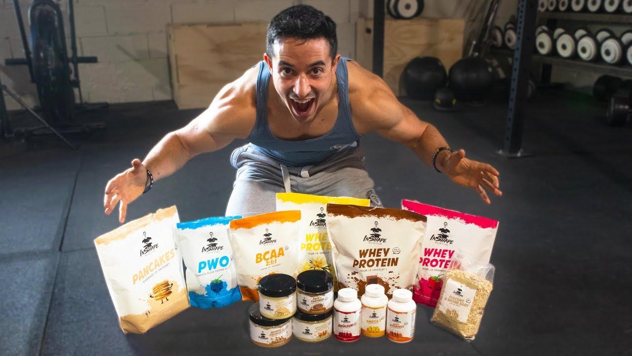 Inshape Nutrition La Marque De Proteine De Tibo Inshape
