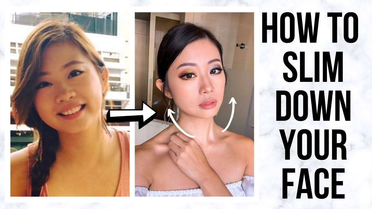 HOW TO SLIM DOWN YOUR FACE (include 9 Effective Face Exercises) ~ Emi
