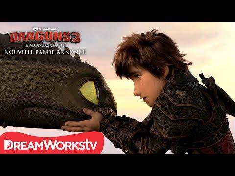 Dragons 3 : Le Monde caché vidéo