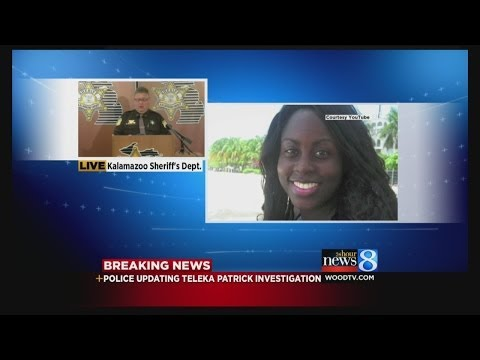 News conference on Teleka's disappearance