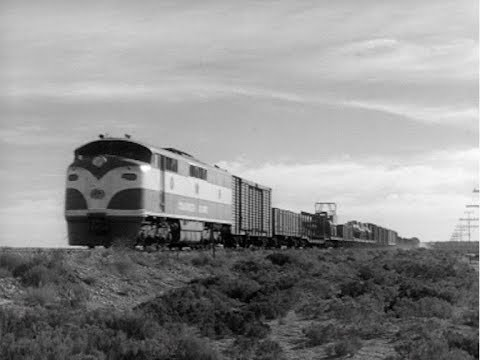New Standard Gauge Railway Links Marree And Port Augusta. Australian Diary 103.