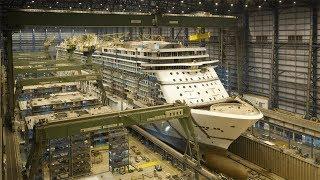 Superschiffe - Norwegian Breakaway - Bau eines Kreuzfahrt Giganten - Doku Deutsch 2018 HD