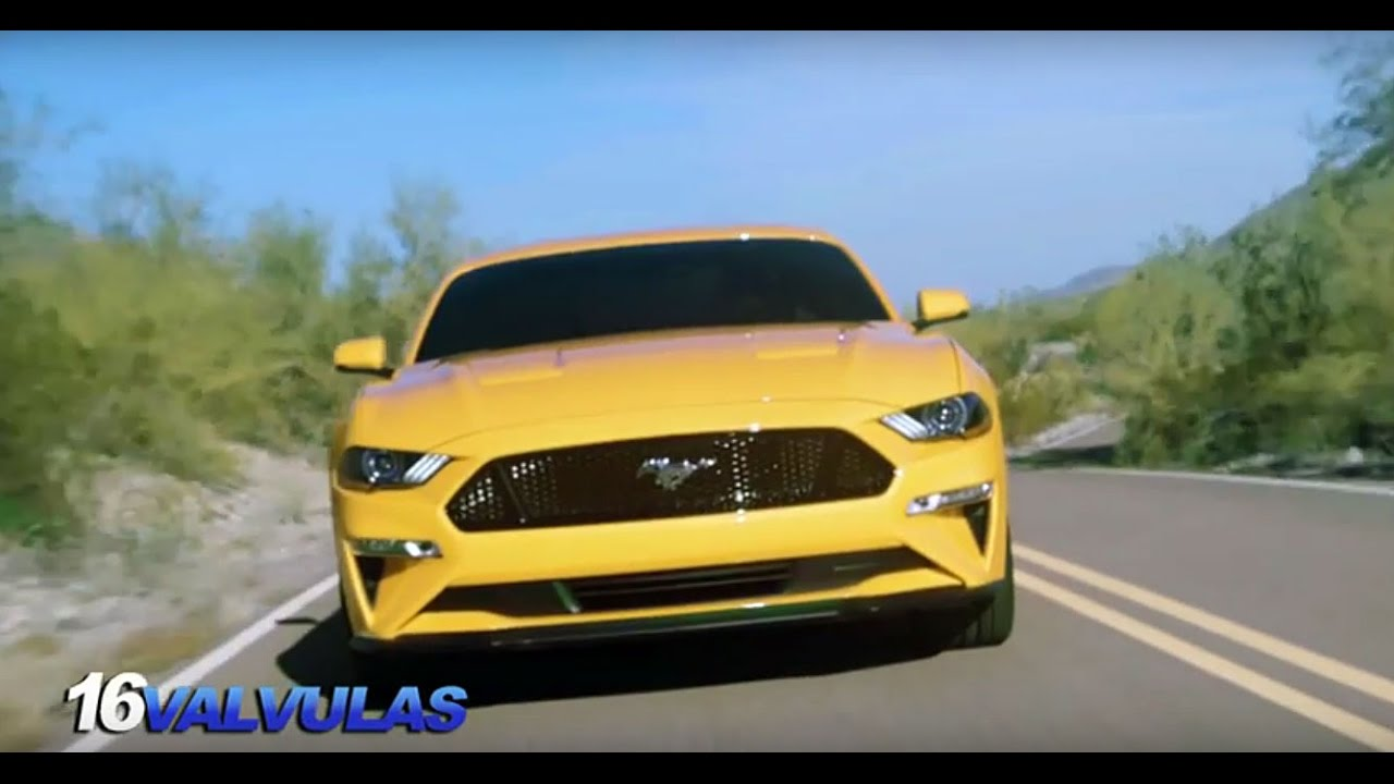 Nuevo Ford Mustang 2018