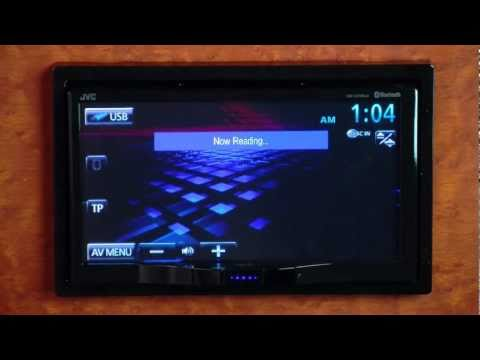 JVC KW-AVX840 Double-DIN Multimedia Receiver