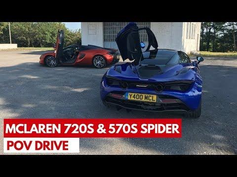 McLaren 720S e 570S Spider (2018) | POV Test Drive #SaliteaBordo