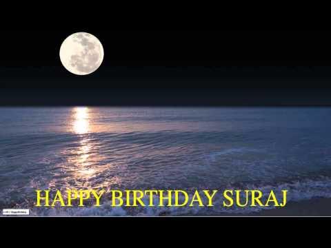 Suraj  Moon La Luna - Happy Birthday