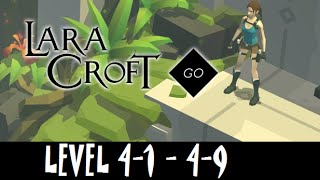 LARA CROFT GO - Level 4-1, 4-2, 4-3, 4-4, 4-5, 4-6, 4-7, 4-8, 4-9 Walkthrough - Gameplay Trailer