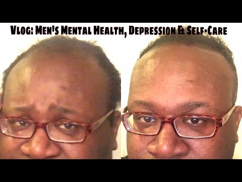 Vlog: Men's Mental Health, Depression & Self-Care (plus hair cut tutorial for African/Black Hair) thumbnail