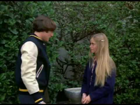 Marcia Brady of the Brady Bunch in Something Suddenly Came Up