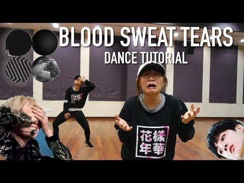 BTS - Blood Sweat Tears(피 땀 눈물) Dance Tutorial | FULL Mirrored [Charissahoo]